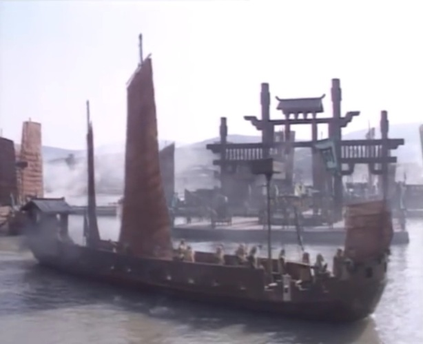 ฉากทัพเรือ ในศึกเซกเพ็ก
