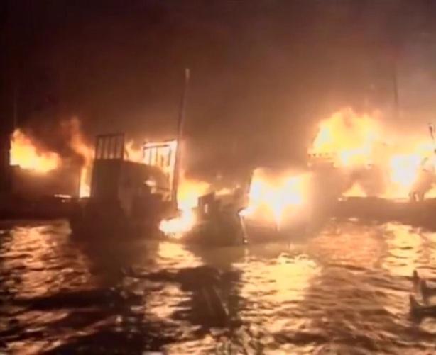 โจโฉ แตกทัพเรือในศึกเซ็กเพ็ก ที่ผาแดง
