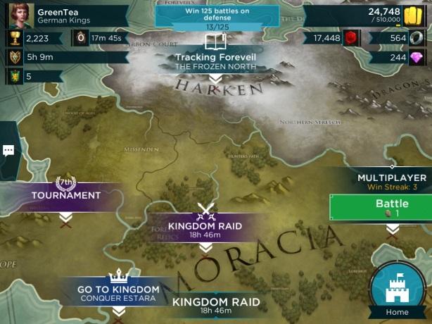 Rival kingdom